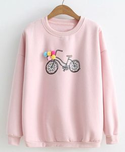 Bicycle Sweatshirt ZNF08