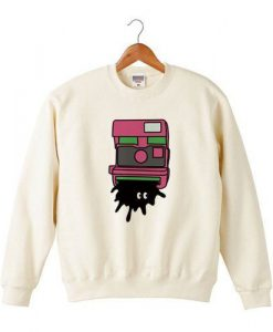 Black Monster Sweatshirt ZNF08