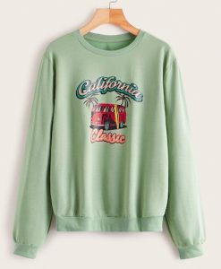 CALIFORNIA CLASIC SWEATSHIRT ZNF08
