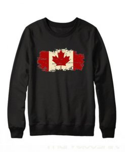 Canada Flag Sweatshirt ZNF08