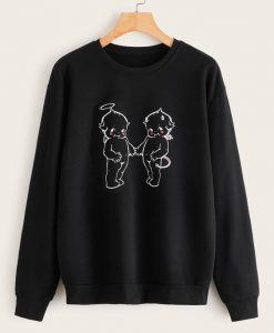 Cartoon Figure SWEATSHIRT ZNF08