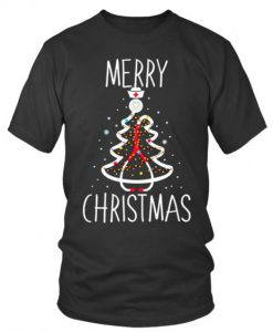 Christmas Stethoscope T Shirt ZNF08
