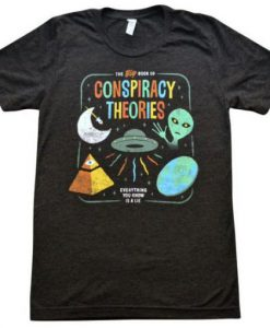 Conspiracy Theories Vintage T-Shirt ZNF08