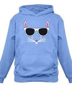 Cool Glasses Rabbit HOODIE ZNF08