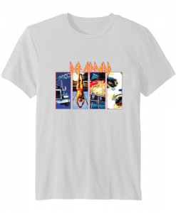 Def Leppard Graphic T-shirt ZNF08