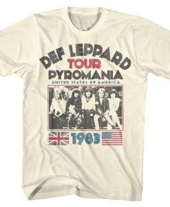 Def Leppard Men's T-shirt ZNF08