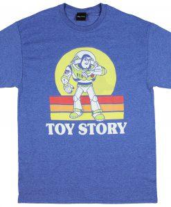 Disney Pixar Toy Story Vintage Style Buzz Lightyear Men's T-Shirt ZNF08
