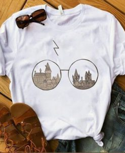 Eye Glasses Harry Potter T-shirt ZNF08