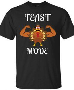 Feast Mode Turkey t-shirt ZNF08