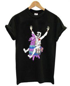 Fortnite x Marshmello T shirt ZNF08