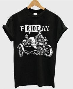 Friday Motorcycle T-Shirt ZNF08