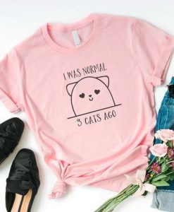 Funny cat gift T-shirt ZNF08