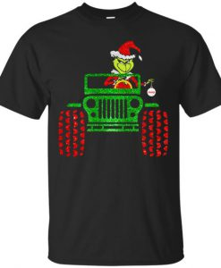 Grinch Jeep Christmas T-Shirt ZNF08