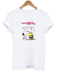 Happiness Love Kiss T-Shirt ZNF08