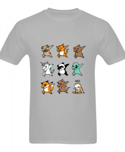 Happy Animals Dabbing T-Shirt ZNF08