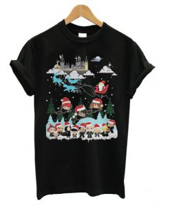 Harry Potter and Santa Claus Christmas T shirt ZNF08