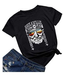 Have A Willie Nice Day Willie Nelson T SHIRT ZNF08