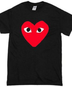 Heart with eyes T-shirt ZNF08