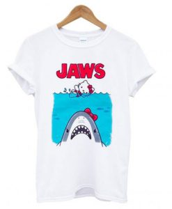 Hello Kitty Jaws Parody T shirt ZNF08