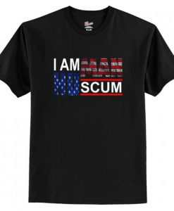 I Am Human Scum T-Shirt ZNF08