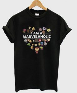 I Am a Marvelaholic T-Shirt ZNF08