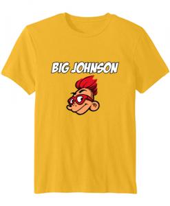 big johnson tshirt ZNF08