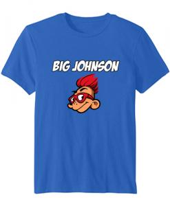 big johnson tshirt blue TSHIRT ZNF08