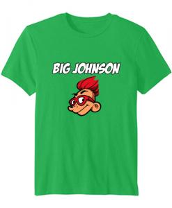 big johnson tshirt green ZNF08