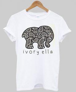 elephant ivory ella T shirt ZNF08