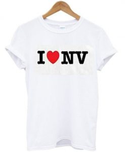 i love nv t-shirt ZNF08