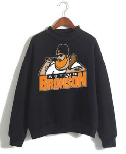 Action Bronson Black Sweatshirt ZNF08