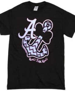 Alabama-Bowtie-Anchor-T-shirt ZNF08