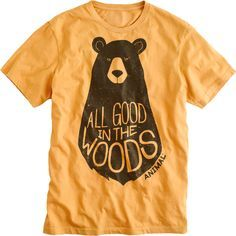 All Good In The Woods Tshirt ZNF08