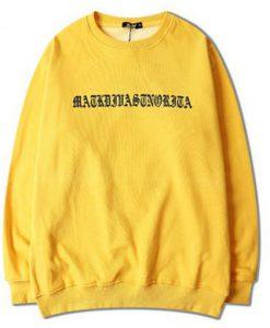 Ariana Grande Yellow Sweatshirt ZNF08