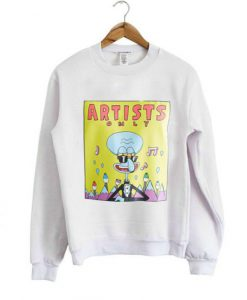 Artist Only Squidward sweatshirt ZNF08