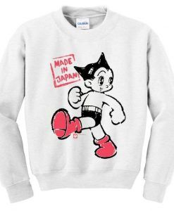 Astro boy made in japan sweatshirt ZNF08