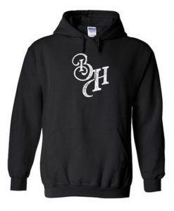 BH font hoodie ZNF08