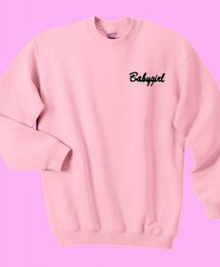 Babygirl Sweatshirt ZNF08