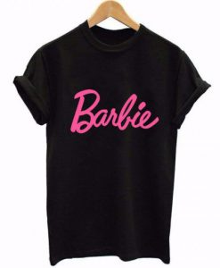 Barbie Black & Pink T-Shirt ZNF08