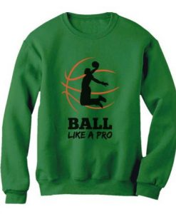 Basketball Player Sweatshirt ZNF08