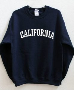 California Graphic Print Sweatshirt ZNF08
