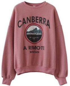 Canberra mountain Sweatshirt ZNF08