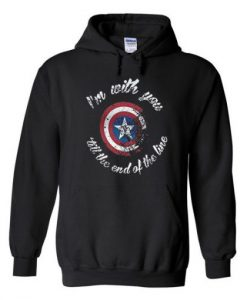 Captain America Quote Hoodie ZNF08