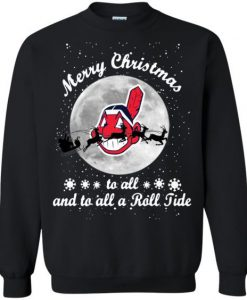 Cleveland Indians to all Roll Sweatshirt ZNF08