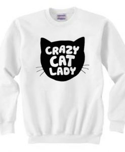 Crazy Cat Lady Sweatshirt ZNF08