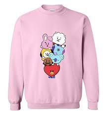Cute BT21 Emoji Sweatshirt ZNF08
