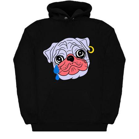 Cute Bulldog Hoodie ZNF08
