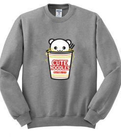 Cute Noodles Sweatshirt ZNF08