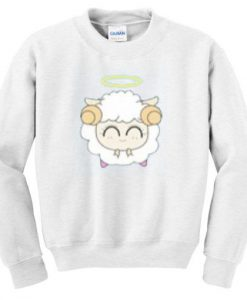 Cute-angel-Sheep-Sweatshirt ZNF08