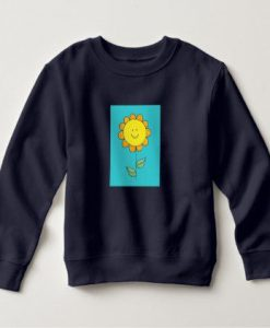 Cute flower sweatshirt ZNF08